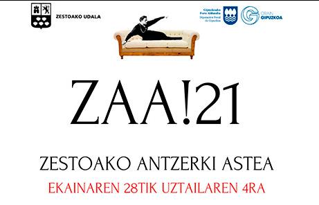Ekainaren 28an abiatuko da Zestoako Antzerki Astea