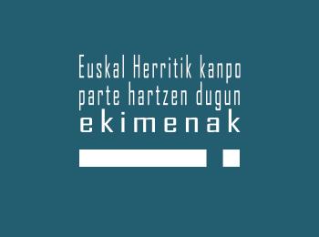 Euskal Herritik kanpo parte hartzen dugun ekimenak